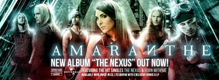 Amaranthe - The Nexus - promo banner pic - 2013