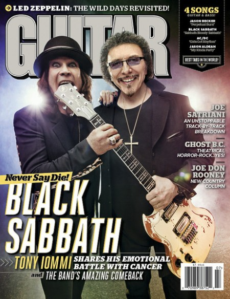 Black Sabbath - Guitar World - July - 2013 - promo