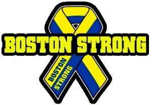 Boston Strong - Ribbon Logo - Large