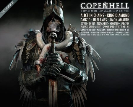 Copenhell - 2013 - promo flyer - #2