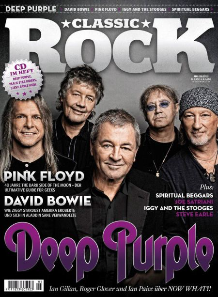 Deep Purple - Classic Rock Magazine - UK - promo cover - 2013