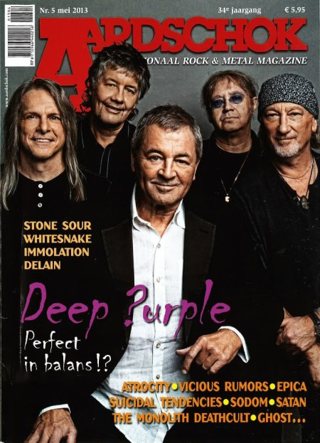 Deep Purple - cover promo - Aardschok - 2013