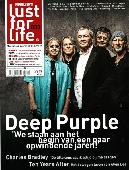 Deep Purple - Lust For Life - magazine cover - 2013