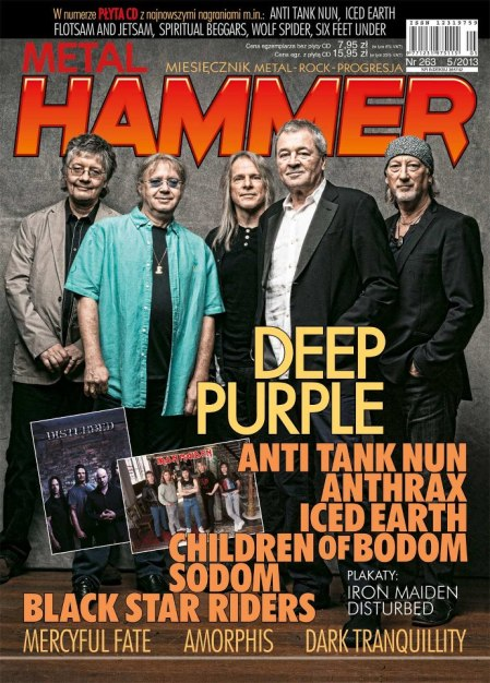 Deep Purple - Metal Hammer - Poland - promo cover - May 2013
