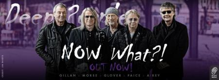 Deep Purple - Now What?! - promo band album banner - 2013