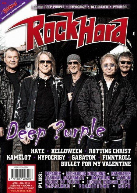 Deep Purple - Rock Hard - cover promo - 2013