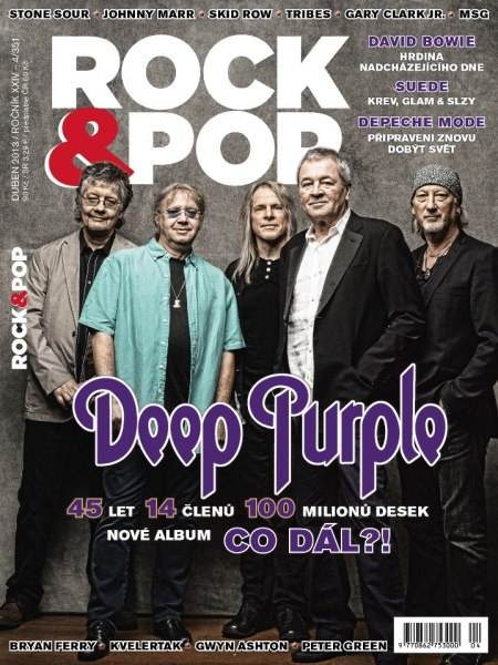 Deep Purple - Rock & Pop - cover promo - 2013