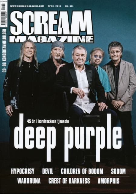 Deep Purple - Scream Magazine - promo cover - 2013