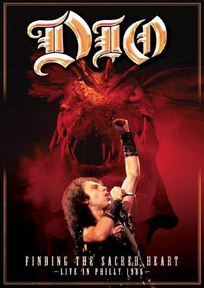 DIO - Finding The Sacred Heart - promo cover pic - 2013