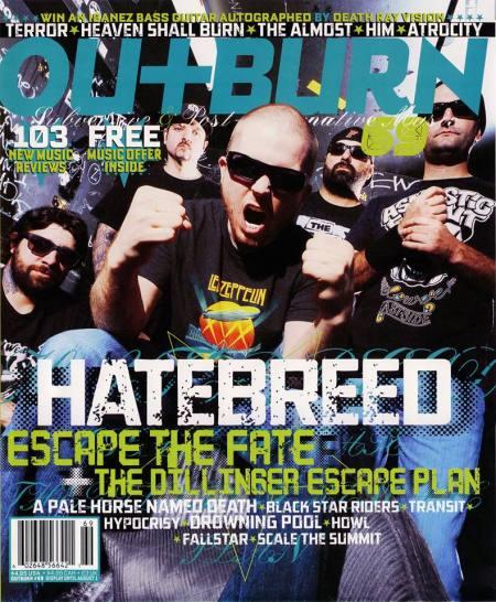 Hatebreed - Outburn Magazine - promo cover - 2013