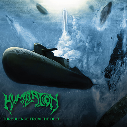 Humiliation - Turbulence From The Deep - promo cover pic