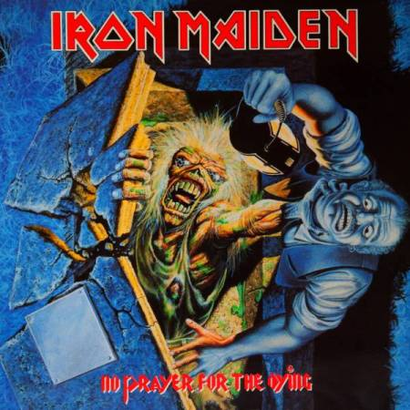 Iron Maiden - No Prayer For The Dying - promo cover pic