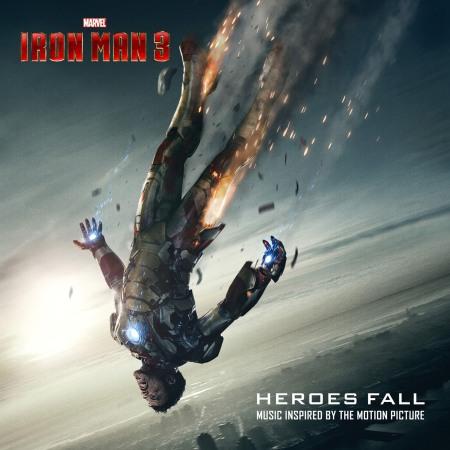 WALT DISNEY RECORDS HEROES FALL MARVEL IRON MAN 3