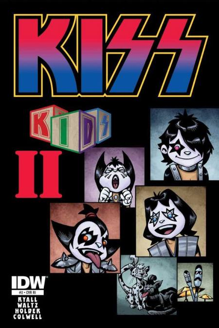 Kiss - Kids II - comic cover promo - #2 - 2013