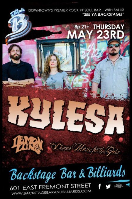 Kylesa - Demon Lung - promo flyer - Triple B - concert - May 2013