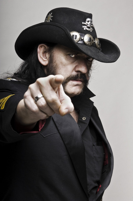 Lemmy Kilmister - publicity - cooking promo