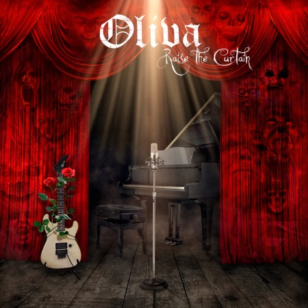 Oliva - Raise The Curtain - promo cover pic!