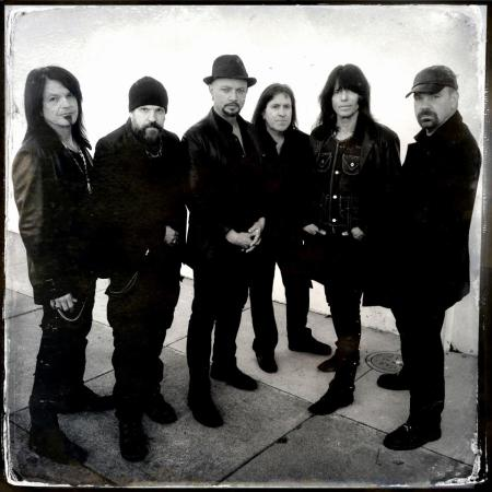 Queensryche - band pic - promo - #1 - 2013 - B&W