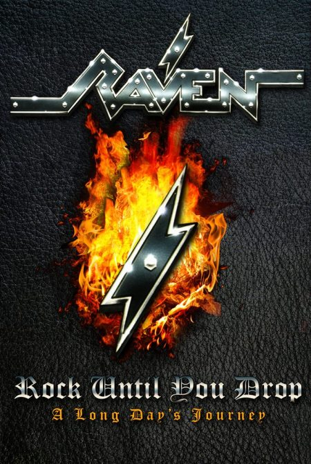 Raven - Rock Until You Drop - A Long Days Journey - promo cover pic