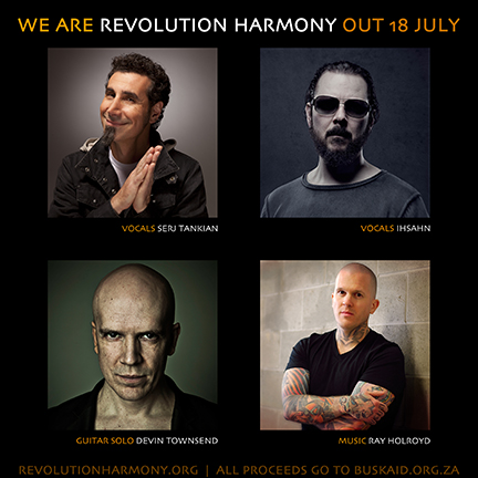 Revolution Harmony - We Are - Charity Single - flyer promo - July 2013
