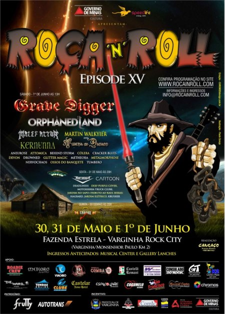 Roca n Roll - Episode XV - festival promo flyer
