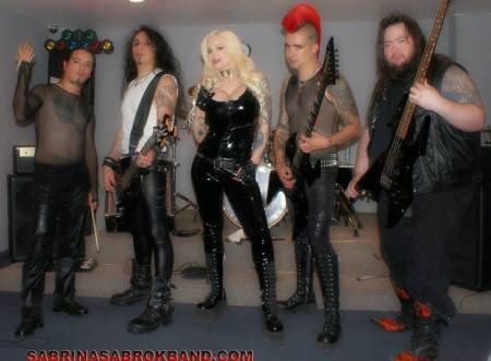 Sabrina Sabrok Band - Promo Band pic - 2013 - #8