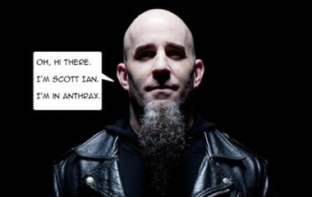 Scott Ian - Spoken Word Tour - promo pic - 2013