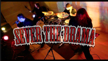 Sever The Drama - band promo pic and logo - #1