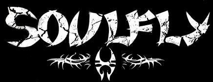 Soulfly - classic band logo - B&W