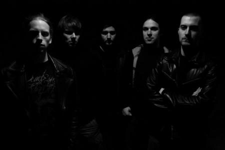 Spheron - band promo pic - 2012 - #1 - B&W