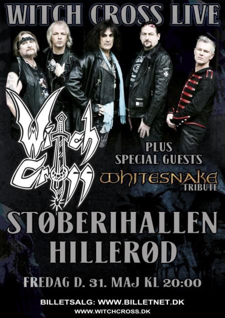 Witch Cross - May - hillerod - concert flyer - 2013