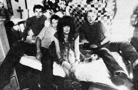 X - Circa 1981 - Promo Band Pic - #1