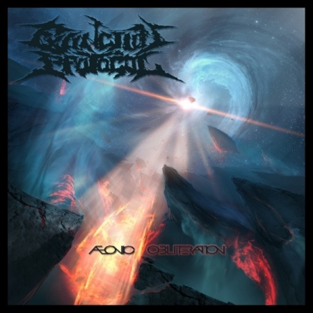 Aeonic Obliteration - Extinction Protocol - promo cover pic