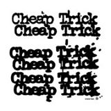 Cheap Trick - Classic logo - promo block - B&W