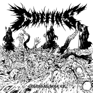 Coffins - Colossal Hole - promo cover pic!