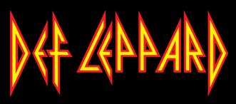 Def Leppard - Classic Band Logo - 2013