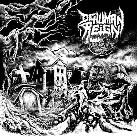 Dehuman Reign - Destructive Intent - promo cover pic