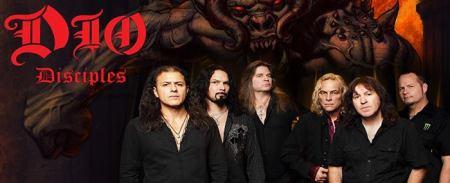 Dio Disciples - promo banner - band - logo - 2013