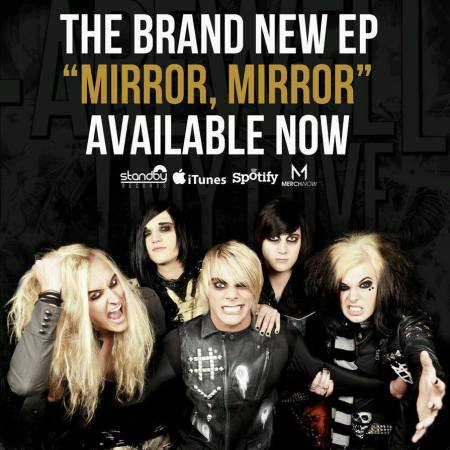 Farewell My Love - Mirror Mirror - promo flyer - #1 - 2013
