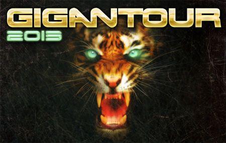 Gigantour - 2013 - promo flyer header