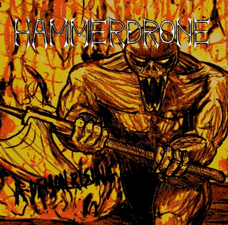 Hammerdrone - A Demon Rising Web Image Front Cover