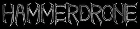 Hammerdrone - Band Logo - Large - B&W