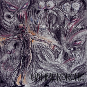 HAMMERDRONE - Wraiths On The Horizon - single cover pic - promo - 2013
