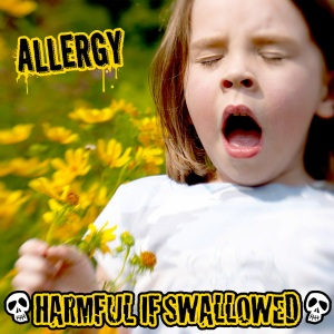Harfmful If Swallowed - Allergy - promo cover pic