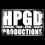 Horror Pain Death Gore - Productions - Logo - B&W