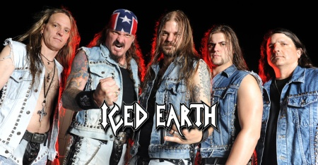 Iced Earth - band pic - band logo - 2012