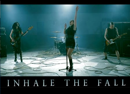 Inhale The Fall - promo band pic - band logo - 2013 - #1