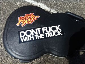 Monster Truck - Stickers - Guitar Case - 2013