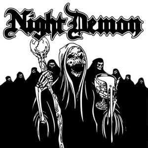 Night Demon - promo EP cover pic - 2013