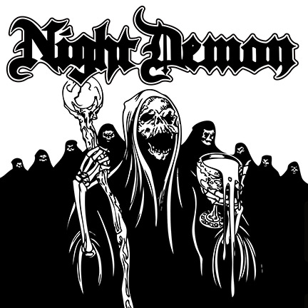 Night Demon - promo EP cover pic - 2013